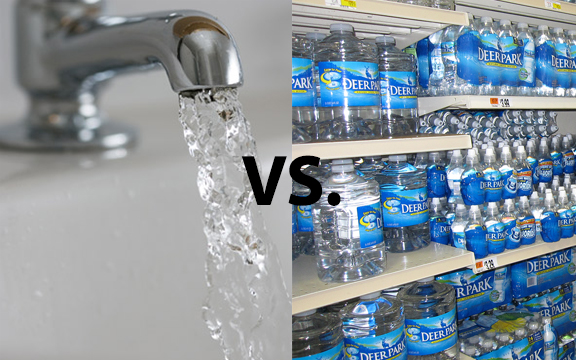 Tap Water vs. Bottled Water
