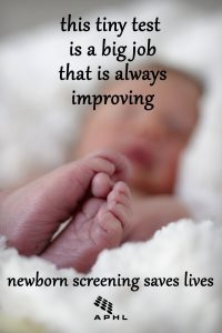 Newborn Screening: This Tiny Test is a Big Job That's Always Improving   www.APHLblog.org