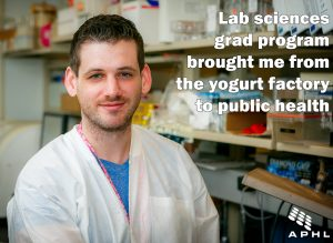 Lab sciences grad program brought me from the yogurt factory to public health | www.APHLblog.org