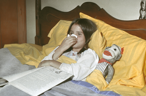 When you have the flu, it isn't just about you