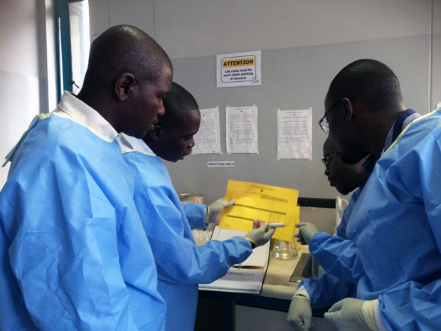 Small but mighty Zimbabwe lab team meets challenges in reaching HIV testing goals