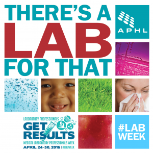 Everything you need for Lab Week 2016 | www.APHLblog.org