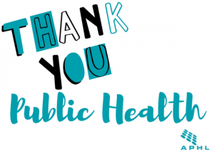 APHL says thank you | www.APHLblog.org