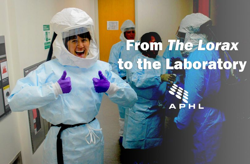 From The Lorax to the Laboratory   www.APHLblog.rg