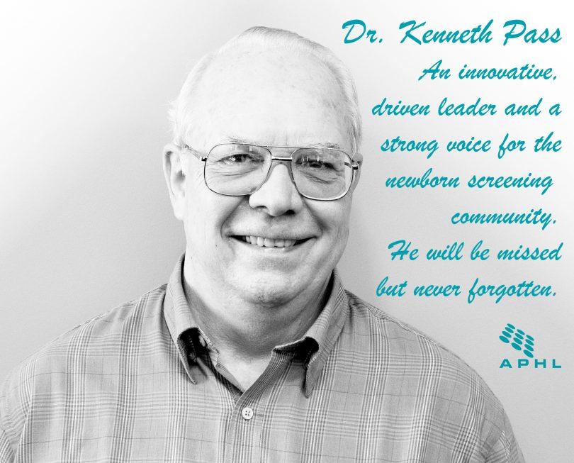 Remembering Dr. Kenneth Pass, a newborn screening champion   www.APHLblog.org