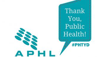 APHL says THANK YOU | www.aphlblog.org