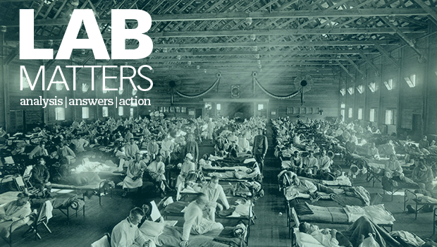 New Lab Matters: 100 Years of Influenza