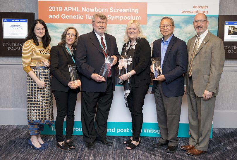 Congratulations to 2019 APHL newborn screening award winners | www.APHLblog.org