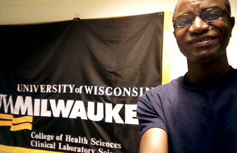 Nigerian malaria researcher joined the Milwaukee laboratory for a cultural exchange beyond the bench | www.APHLblog.org
