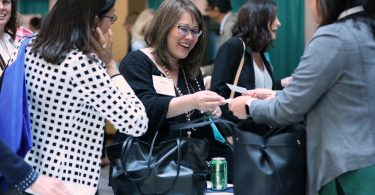 Networking at the APHL annual meeting