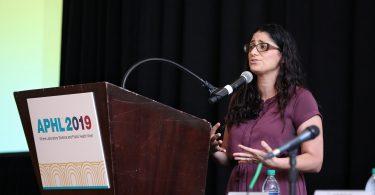 Dr. Mona Hanna-Attisha speaks at the APHL annual meeting