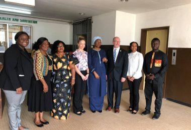 APHL's Sierra Leone team