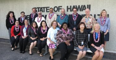 The Pacific Rim Consortium met in person for the first time at the Hawaii Public Health Laboratory in March, 2019.