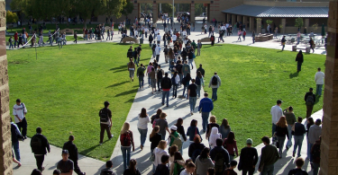 Photo of a high school campus