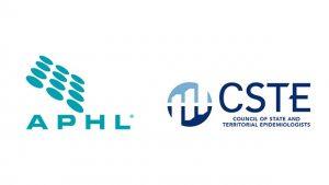 APHL and CSTE logos