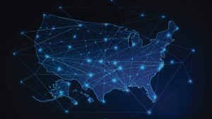 The United States data connections